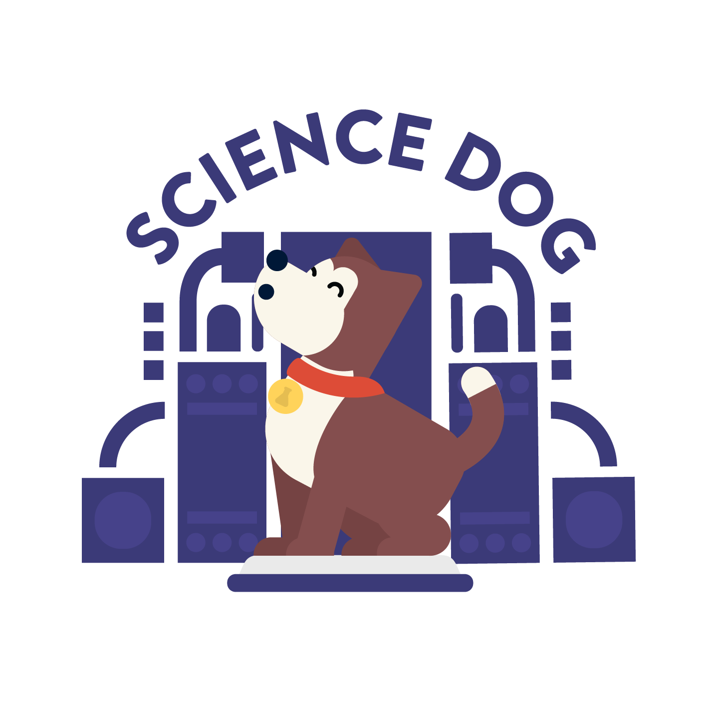 science dog barking