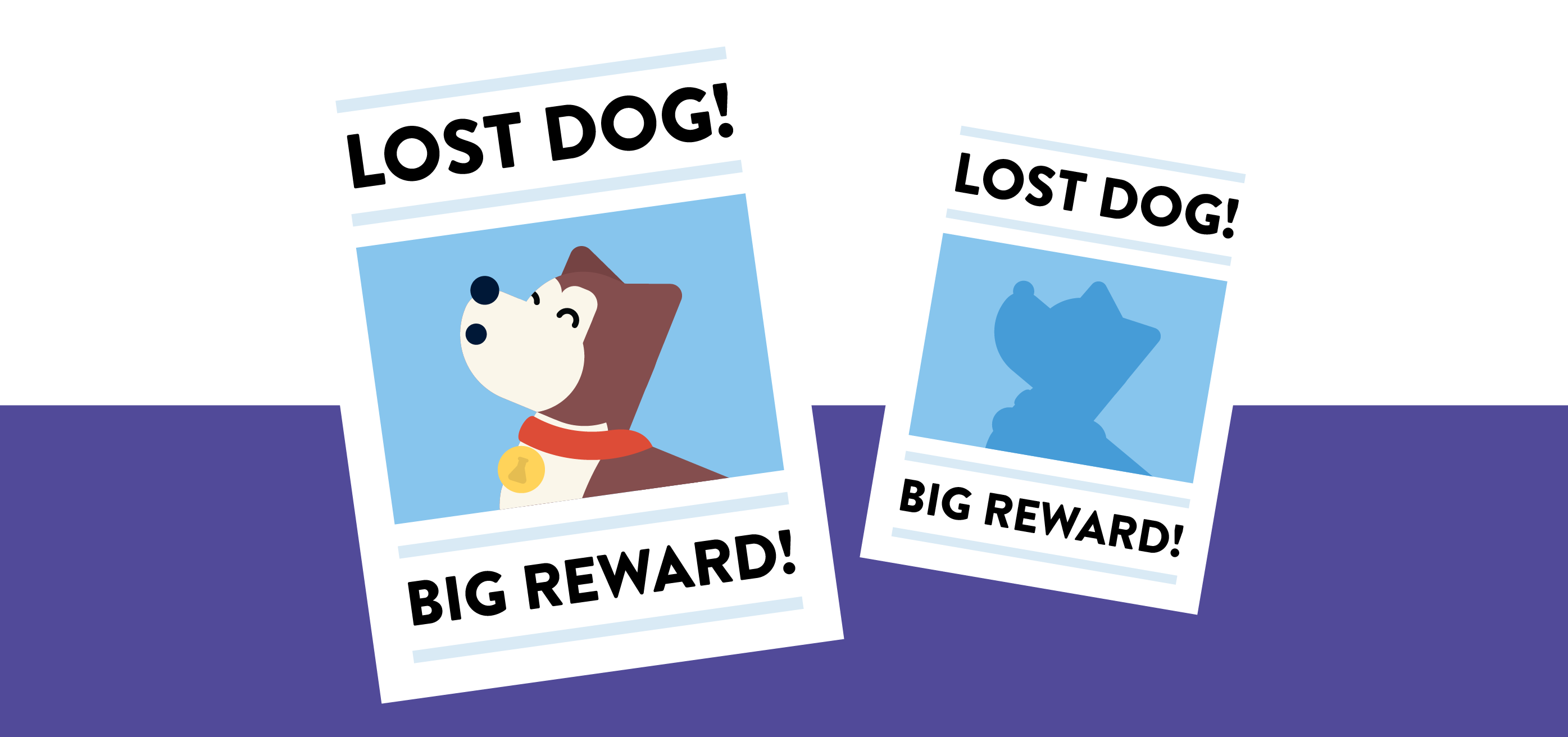 lost dog flyers